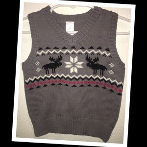 George 18m boy holiday themed sweater vest🎄EUC🎄